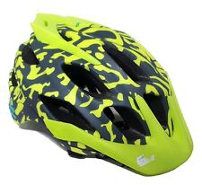 Fox Flux Women's Cycling Helmet - Miami Green - 50-54cm - Old Stock, Wrong Box