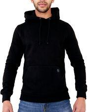Mens Womens Hoody Hooded Plain Slim Fit Casual Sweatshirt  XS S M L XL 2XL 3XL