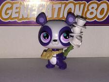 Littlest PetShop PANDA BLANC ET VIOLET AVEC DES TASSES 2769 b028 PANDA Pet Shop