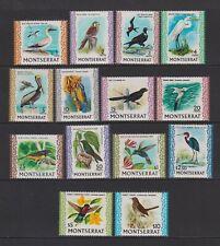 Montserrat - 1970,1c - $10 Oiseaux Complet Ensemble - MNH - Sg 242/54c