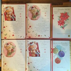 Quality Christmas Cards Choice Of Nan Wife Granson Greetings Card With Envelopes
