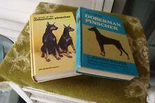 "2 1976 77 Classics ""The Book of the Doberman Pinscher"" Joan McDonald Brearley,"