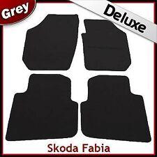 Skoda Fabia 2000 2001 2002...2005 2006 2007 Tailored LUXURY 1300g Car Mats GREY