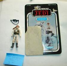 Vintage Kenner Star Wars LUKE SKYWALKER HOTH w 65 bk card back w orig acc M62