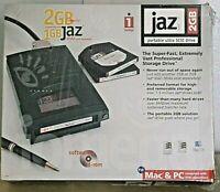 Iomega Jaz Drive - 2 GB (SCSI External / Portable Drive) - New In Box (PC & MAC)
