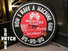 SNAKE PATCH ..:: NAKATOMI PLAZA ::.. die hard MERRY CHRISTMAS machine gun