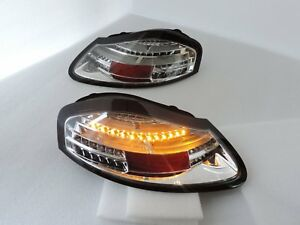 New Style SEQUENTIAL LED Tail Rear Light for 1996 1997~2004 Porsche 986 Boxster
