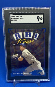 1999 Fleer Ultra Derek Jeter RBI Kings New York Yankees #18 SGC 9 Comp to PSA