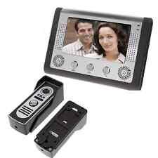 "7"" Video Door Phone Doorbell Door Bell Intercom Camera Monitor Night Vision US"