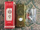 Внешний вид - Vintage Trine Gold Medallion Award Brass Electric Lighted Push Button Doorbell