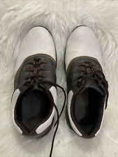 New listing Mens Leather Footjoy golf shoes 101/2 wide