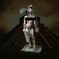1/24 Resin Figure Model Kit Sexy Girl Aztec Eagle Warrior Unassembled Unpainted