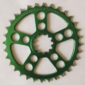 White Industries 32t Chainring - for ENO Crankset RARE Green Ano USA