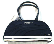 Puma Volcano Handbag 069215 01 Cotton 2 Handle Navy Medium Casual Bag NEW BNWT