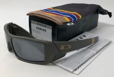 NEW Authentic Oakley Gascan GWOT Matte Onyx/Black Iridium Lenses, OO9014-01