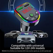 FM Transmitter Auto Bluetooth MP3 Player USB KFZ SD AUX Freisprechanlage DE