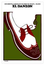 "Cuban movie Poster 4 film""EL DANZON""Dance Shoes.Music.World Graphic Design"