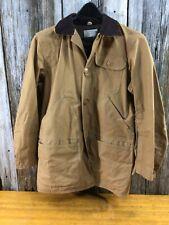 Vintage Sears canvas bird hunting jacket Size 38 Unworn