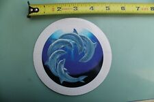 Wave Riding Vehicles Wrv Surfboards Porpoise Dolphin Vintage Surfing Sticker