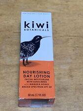 New Kiwi Botanicals Nourishing Day Lotion Facial Moisturizer Manuka Honey Spf 30