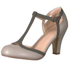e56f5598e27 Journee Collection Women s  Olina  T-strap Round Toe Mary Jane Pumps ...