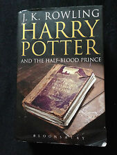 """First Edition Bloomsbury """"Harry Potter And The Half Blood Prince"""" Adult (7)"""