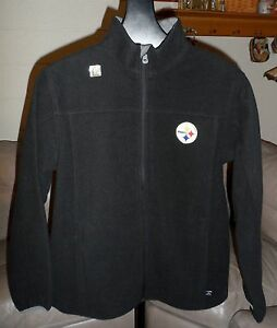 PITTSBURGH STEELERS Performance Jacket E-Systems/NFL Adult-Mens MEDIUM *NEW