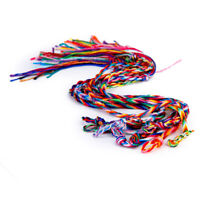9pcs Handmade Rope Woven Braided Friendship Bracelet Anklet Ankle Ethnic