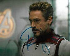 "ROBERT DOWNEY JR ""Iron Man"" Autographed 8 x 10 Signed Photo HOLO COA"