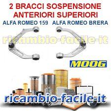 2 BRACCI SOSPENSIONE ANTERIORI SUPERIORI ALFA 159 BRERA NUOVI 50704947 50704948