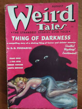WEIRD TALES AUGUST1937  POEM BY HOWARD