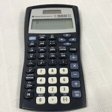 TI-30XIIS Texas Instruments TI30XIIS Dual Power Scientific Calculator LCD