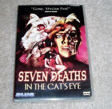 Seven Deaths in the Cat's Eye DVD Cult Italian Horror Giallo Blue Underground