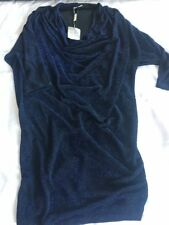 Planet Batwing Tunic Sparkly Glitter Party Dress Size Small