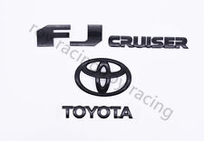 Toyota Fj Cruiser 2007-2015 Rear Door Emblem Logo Badge Nameplate Gloss Black