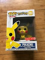 Funko Pop! Pokemon Pikachu #353 Target Exclusive In Hand Brand New Ships Now!