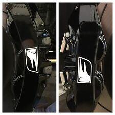 8pc 2016 Lexus GS-F Brake Caliper Vinyl Sticker Decal Logo wrap GS F Glossy Whit