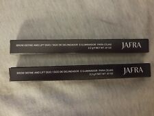 Jafra Brow Define & Lift Duo (Lot of 2 Deep Brunette/Gold Shimmer) New in Box