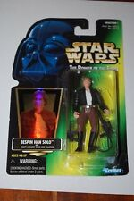 Han Solo Bespin-Star Wars Power of the Force-Green Card-MOC