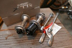 NOS Shimano XTR M900 32 HOLE hubset vtg mtb Klein Ritchey Yeti Potts XT hub NEW