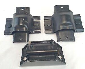 Engine & Transmission Mount 3Pcs fits Ford F Super Duty, F-250, F-350 90-93 7.3L
