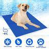 Dog Cat Self Cooling Gel Mat Pet Summer Cool Pillow Hot Weather Large Bed Pads