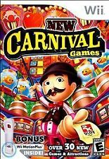New Carnival Games Bundle w/MotionPlus **NEW** (Nintendo Wii & Wii U) Video Game