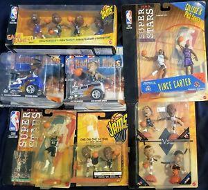 1998 NBA Mattel Huge Lot Hot Wheels Jams Michael Jordan Iverson Duncan Robinson