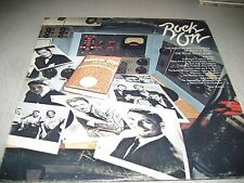ROCK ON MUSICAL ENCYCLOPEDIA SOLID GOLD YEARS 2xLP EX Columbia KG33390 1975