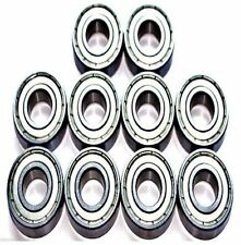 Pack of 10 6802 61802 15x24x5mm ZZ Thin Section Deep Groove Ball Bearing