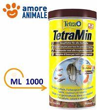 Tetra min Scad.04/2016 litri 1 Gr.200 Mangime Scaglie Pesci Acquario TetraMin
