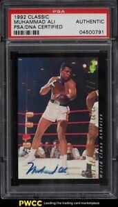 1992 Classic Boxing Muhammad Ali PSA/DNA AUTO PSA Auth