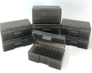 LOT OF 8 Midway # 503 Ammo Boxes for .38spl & .357 Magnum