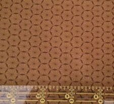 """1 yd 16"""" Compose II Stars by David Textiles Mustard Tone on Tone Blender"""